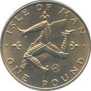 1 pound - Elizabeth II (2eme effigie) -  revers