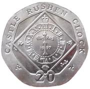 20 pence - Elizabeth II (4eme effigie) -  revers