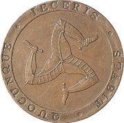 ½ penny - William Callister (jeton de banque) – avers