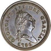 1 penny - George III – avers