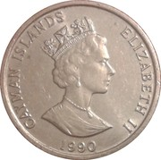 10 cents - Elizabeth II (3eme effigie) – avers