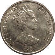 25 cents - Elizabeth II (3eme effigie) – avers