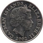 25 cents - Elizabeth II (4eme effigie) – avers