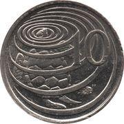 10 cents - Elizabeth II (4eme effigie) – revers