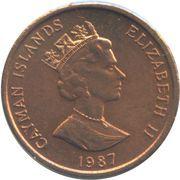 1 cent Elizabeth II (3eme effigie) – avers