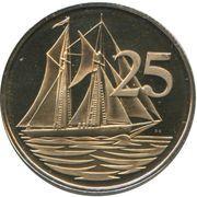 25 cents - Elizabeth II (2eme effigie) – revers