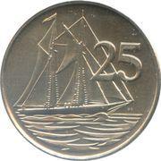 25 cents - Elizabeth II (3eme effigie) – revers