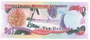 10 Dollars  2005 – revers
