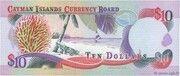 10 Dollars 1996 – revers