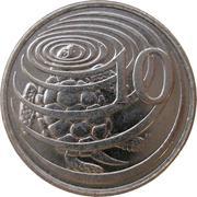 10 cents - Elizabeth II (3eme effigie) – revers