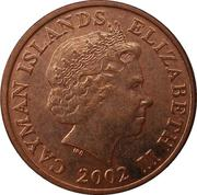1 cent - Elizabeth II (4eme effigie) -  avers