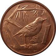 1 cent - Elizabeth II (4eme effigie) – revers