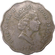 1 dollar - Elizabeth II (3° effigie) -  avers