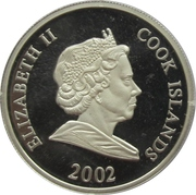 2 Dollars - Elizabeth II (Lion's family) -  avers