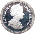 2 pence Elizabeth II Maundy money – avers