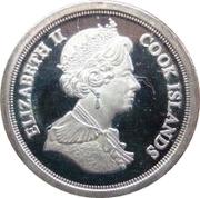 3 pence Elizabeth II Maundy money -  avers