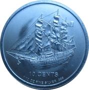 """10 cents - Elizabeth II (""""Bounty"""" Silver Bullion) – revers"""