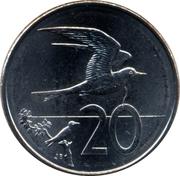 20 cents - Elizabeth II (4e effigie) – revers