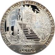 1 Dollar - Elisabeth II -  revers