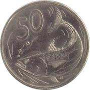50 cents - Elizabeth II (3° effigie) -  revers