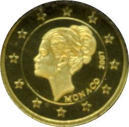 1 Dollar Elizabeth Ii 2 Euro Monaco Pricess Grace Kelly îles