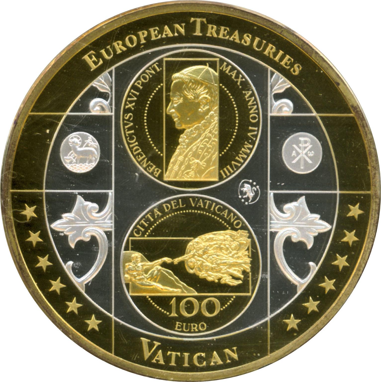 20 Dollars Elizabeth Ii 4th Portrait 100 Euro Vatican îles