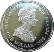 1 dollar Bataille de Trafalgar -  avers