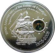 1 dollar Bataille de Trafalgar -  revers