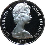 5 cents - Elizabeth II (2e effigie) – avers