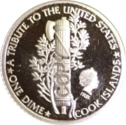 10 Cents - Elizabeth II / 100th Anniversary of the Mercury Dime – avers