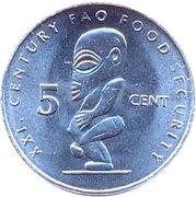 5 cents - Elizabeth II (4e effigie ; FAO) – revers