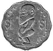 1 dollar - Elizabeth II (4eme effigie) -  revers