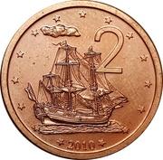 2 cents - Elizabeth II – revers