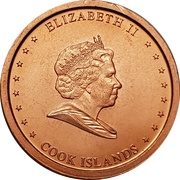 5 cents - Elizabeth II – avers