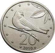 20 cents - Elizabeth II – revers
