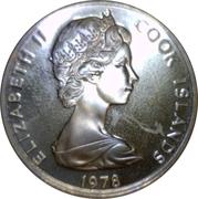 20 Tene - Elizabeth II (2nd portrait) James Cook – avers