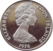 10 Tene - Elizabeth II – avers