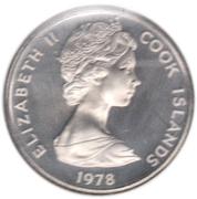 5 cents - Elizabeth II (2e effigie ; James Cook) – avers
