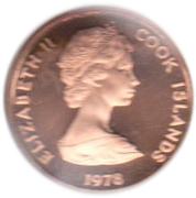 2 cents - Elizabeth II (2e effigie ; James Cook) – avers