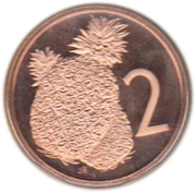 2 cents - Elizabeth II (2e effigie ; James Cook) – revers