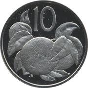 10 cents - Elizabeth II (2e effigie) – revers