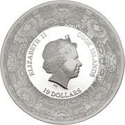 10 Dollars - Elizabeth II (Compagnie néerlandaise des Indes orientales) -  avers