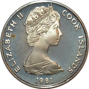 10 cents - Elizabeth II (2e effigie ; mariage Charles - Diana) – avers