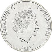 25 Cents - Elizabeth II (''Bounty'' Silver bullion) – avers