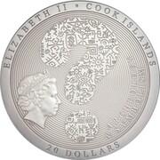 20 Dollars - Elizabeth II (Wheel of Life) -  avers