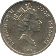 5 cents - Elizabeth II (3e effigie) – avers