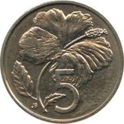 5 cents - Elizabeth II (3e effigie) – revers
