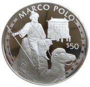 50 Dollars - Elizabeth II (Marco Polo) – revers
