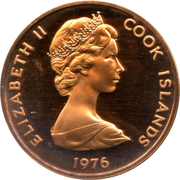 1 cent - Elizabeth II (2e effigie) – avers