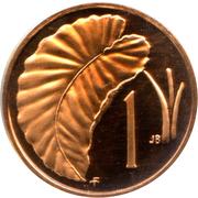 1 cent - Elizabeth II (2e effigie) – revers